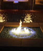 Reflective Fire Glass with Fireplace Glass and Fire Pit Glass