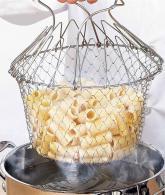 Round Fry Basket Colanders Strainers