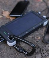 Rugged Solar Charger with Flashlight2