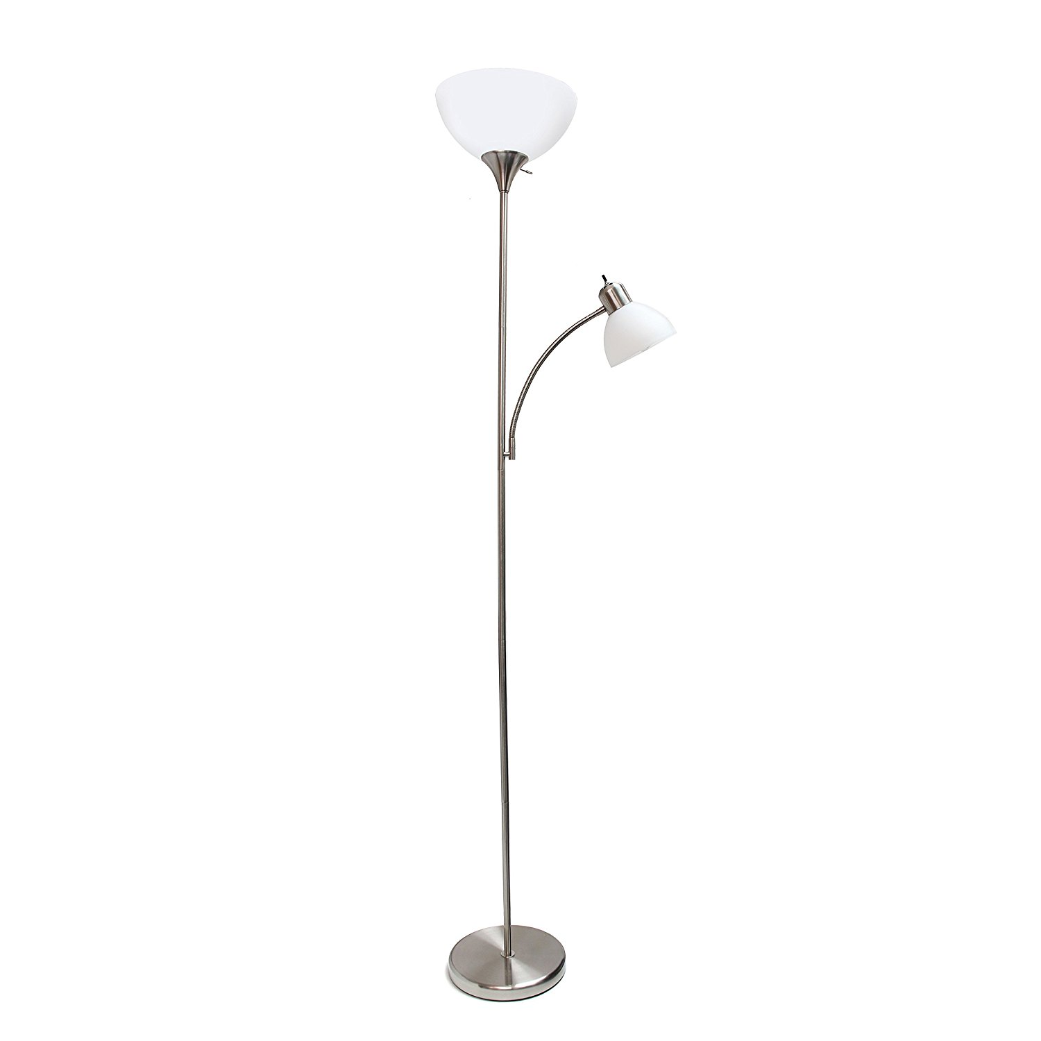 Simple designs floor lamp with reading light best offer for Reading floor lamp reviews
