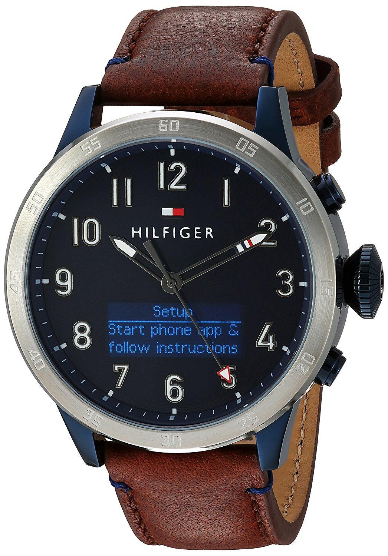 tommy hilfiger men 39 s 39 th 24 7 39 smart watch best offer. Black Bedroom Furniture Sets. Home Design Ideas