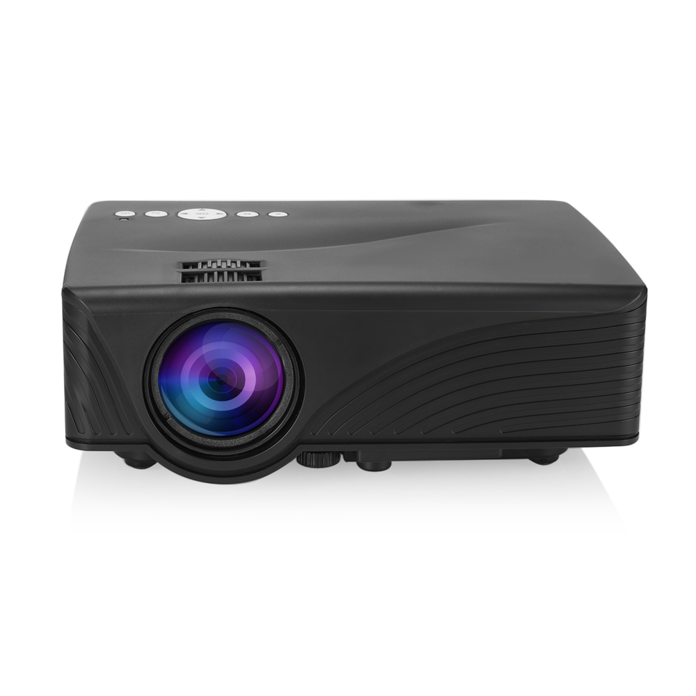 Gp10 gp 10 video projector mini home theater 2000 lumens for Best small hd projector