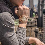 Bewell W023A Natural Wooden Watches for Men with Calendar Quartz Lightweight Wrist Watch 4