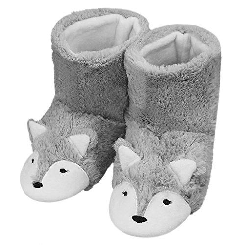 Womens Mens Indoor Warm Fleece Slippers Best Offer Reviews