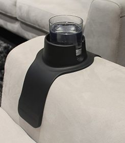CouchCoaster - The ultimate drink holder for your sofa, Jet Black 1