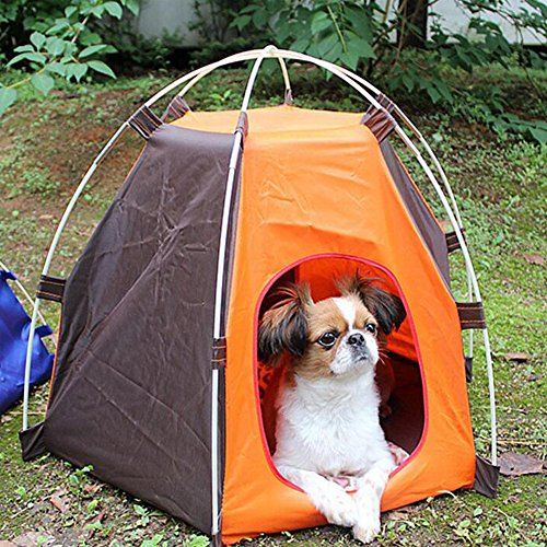 Click to enlarge & RuiXiang 1pcs Outdoor Pet Tent Small Pet Tent Assembly Best Offer