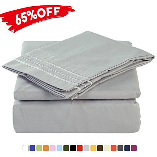 Merous 4 Piece Bed Sheet Set With Deep Pocket