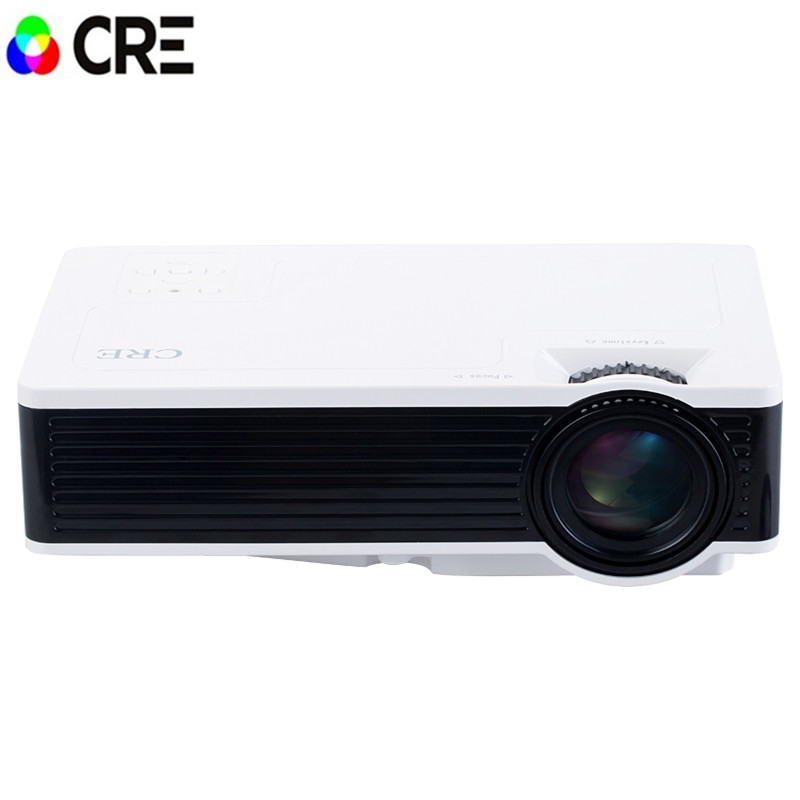 Projector portable led lcd pocket mini projector 800 480 for Best portable projector for home theater