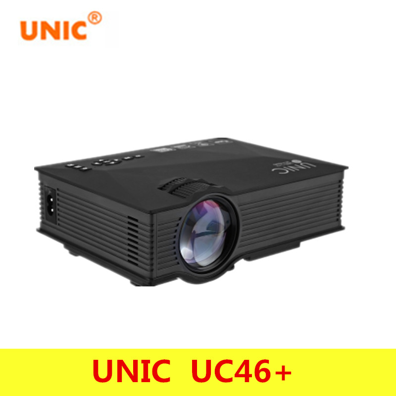Original unic uc46 wireless wifi mini portable projector for Best wireless mini projector