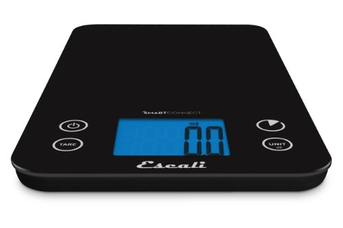 Escali smart connect bluetooth kitchen scale 11 pound for Perfect drink bluetooth scale