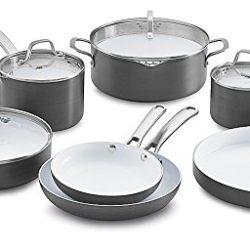Cuisinart Kitchen Pro  Piece Nonstick Cookware Set