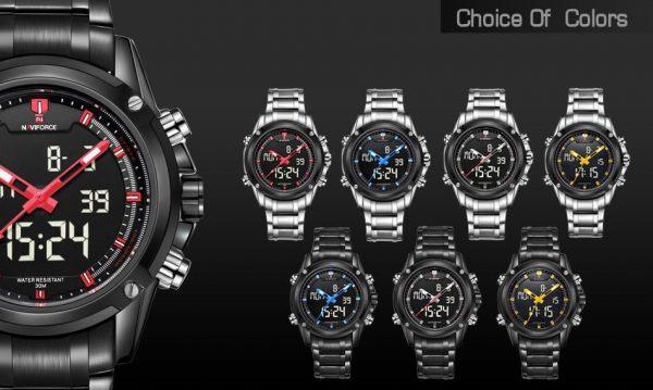 Digital Watch Army Military Sport Wristwatch2