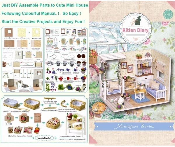 New Doll House Furniture Kit
