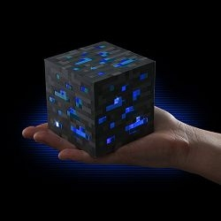 Minecraft Light-Up Diamond Ore - Officially-Licensed Minecraft Collectible