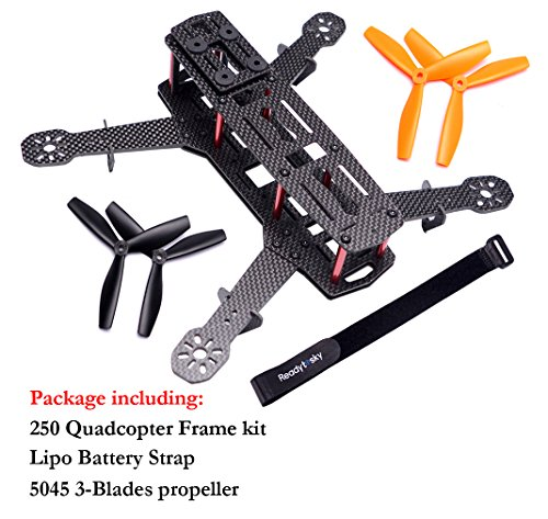 Readytosky 250 FPV Racing Drone Frame Carbon Fiber 250mm Quadcopter ...