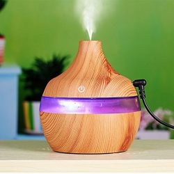 Unigds 300 ml MistAire Ultrasonic Cool Mist Humidifier With Whisper-Quiet Operation