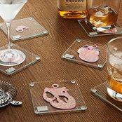 Anatomic Heart Specimen Coasters (Set of 6 pieces)