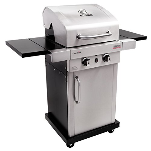 Char-Broil Signature TRU-Infrared 325 2-Burner Cabinet Liquid ...