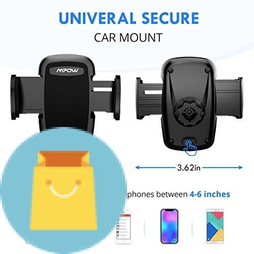 Universal smartphones car air vent mount holder cradle 11
