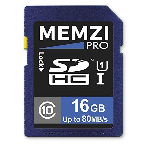 memzi pro 16gb class 10 80mb s sdhc memory card for kodak pixpro az651 az526 az525 az522. Black Bedroom Furniture Sets. Home Design Ideas
