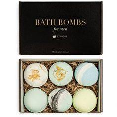 Bath Bombs for Men Set – Ultra Lush Big Assorted Bombs