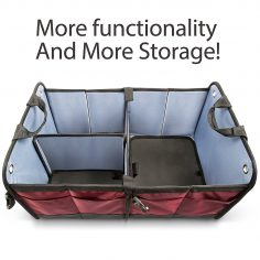 Car Trunk Organizer By Starling's: Eco-Friendly Premium Cargo Storage