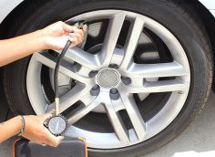 DRIVE Tire Pressure Gauge & Case