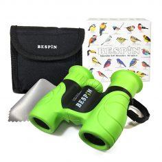 High-Resolution Kids Binoculars Set