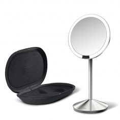 Lighted Makeup Mirror, 10x Magnification