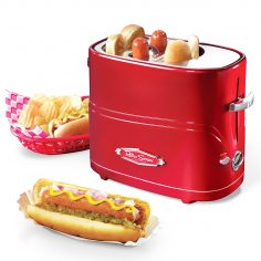 Nostalgia Retro Series Pop-Up Hot Dog Toaster